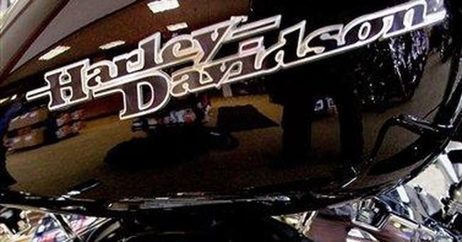 Harley-Davidson income up but misses estimates