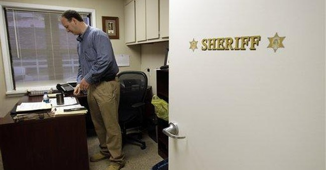 Sheriff faces meth charge in state ravaged by drug