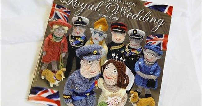 Royal knitting book has Wills and Kate in stitches