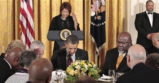 Obama: Christ's travails put others in perspective