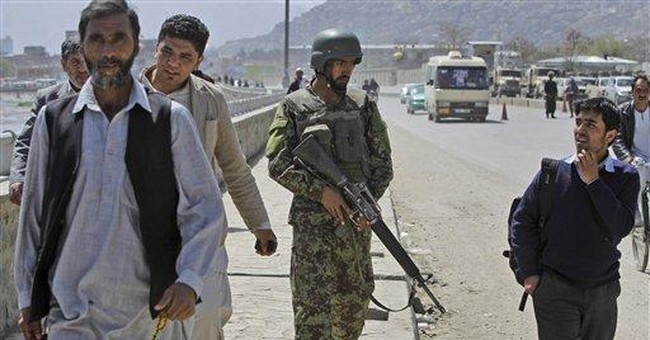 Afghan army says ministry attacker was outsider