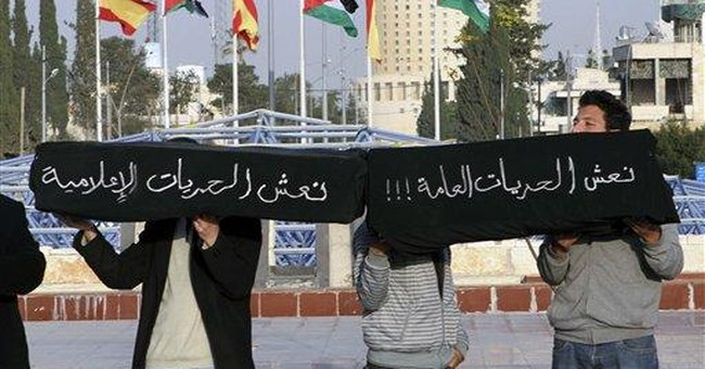 Jordan protester who set himself ablaze dies