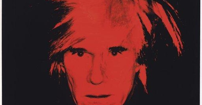 Andy Warhol self-portrait to be sold in NYC