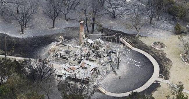 Texans plan to rebuild wildfire-devastated homes
