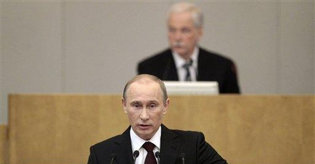 Putin's promises sound like a 2012 campaign spiel