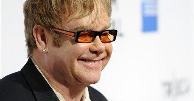 Opening notes for Tribeca, courtesy of Elton John