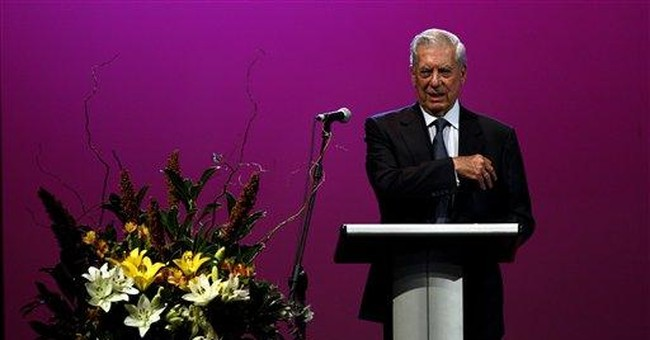 In Argentina, Vargas Llosa insists on free speech