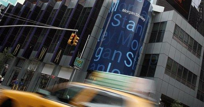 Morgan Stanley's income falls on weak bond trading