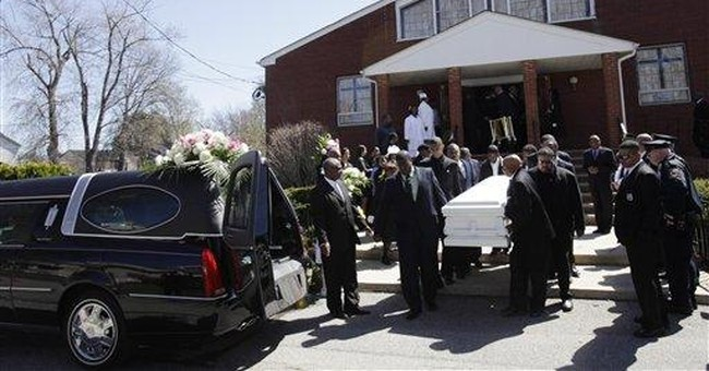 NY mom who killed 3 kids in Hudson is laid to rest