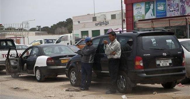 Libyan rebels report gains in Misrata fighting