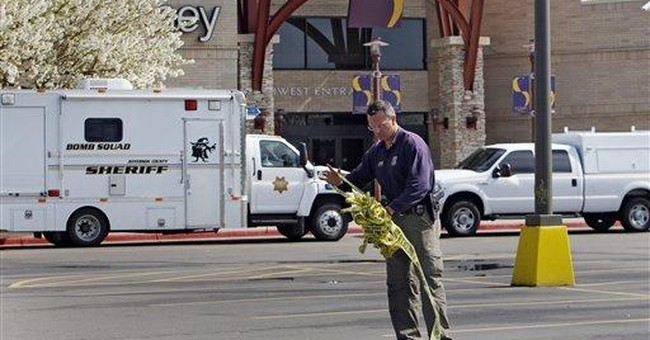Police see Columbine similarities in mall fire