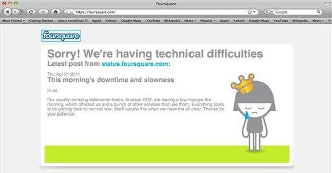 Amazon failure takes down sites across Internet