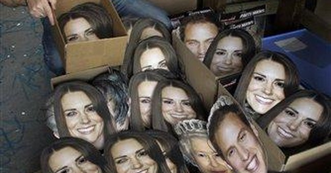 Masks of Britain's royals flying off the shelves