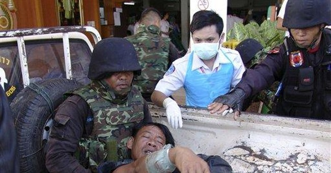 Cambodia claims Thai used chemical weapon in clash