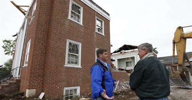 Easter spirit endures in tornado-wrecked churches