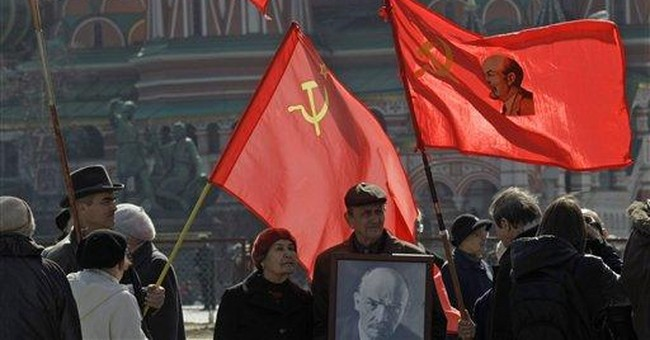 Lenin's legacy totters in Central Asia