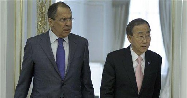 UN head in Russia to talk Libya, other conflicts