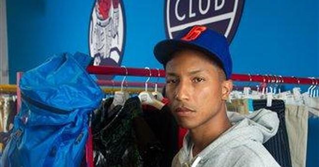 Pharrell says he struggles to be eco-conscious