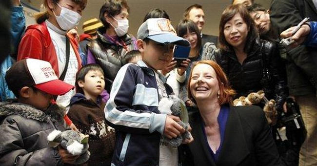 Aust. PM: Tsunami zone is scene of great sorrow
