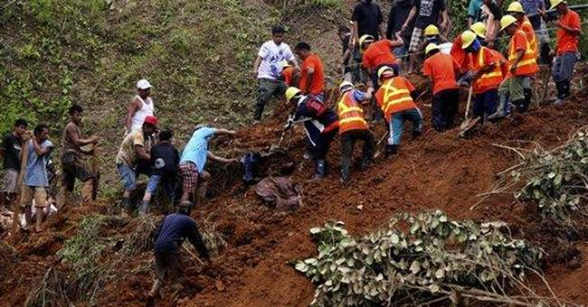 Philippines fears new landslides, wants miners out