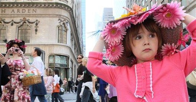 NY's Easter parade tradition both elegant and zany