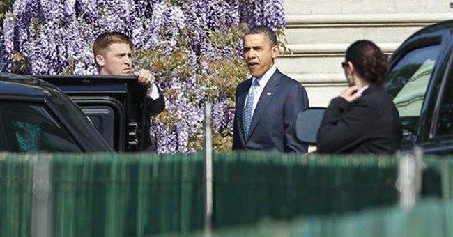 Obama attends Easter service at historic church