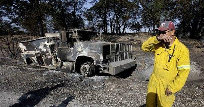 Texas firefighter grants missed fire-prone areas