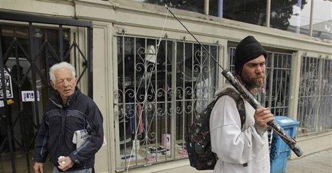 Police enforce San Fran ban on sidewalk sitting