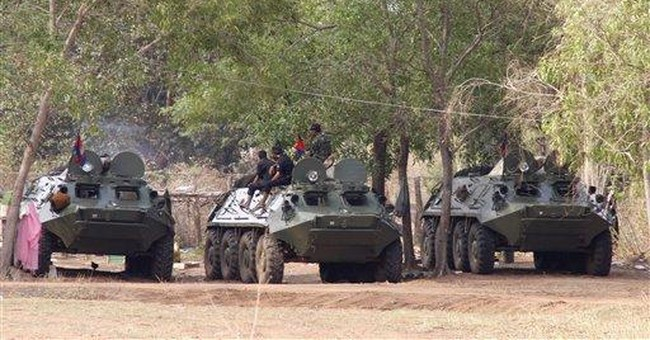 Thailand, Cambodia battle on border for 4th day