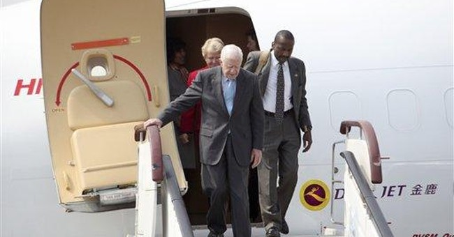 Carter, other ex-leaders in NKorea on 3-day visit