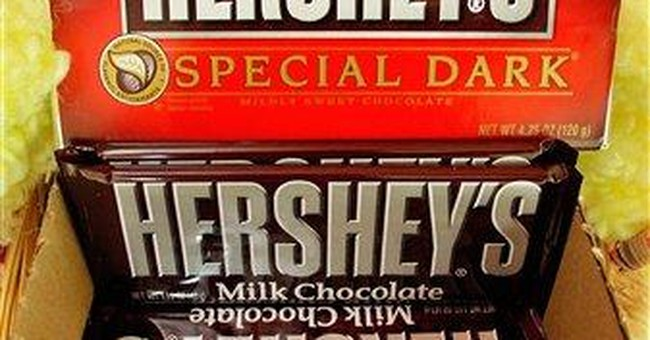Hershey's profit climbs as sales rise