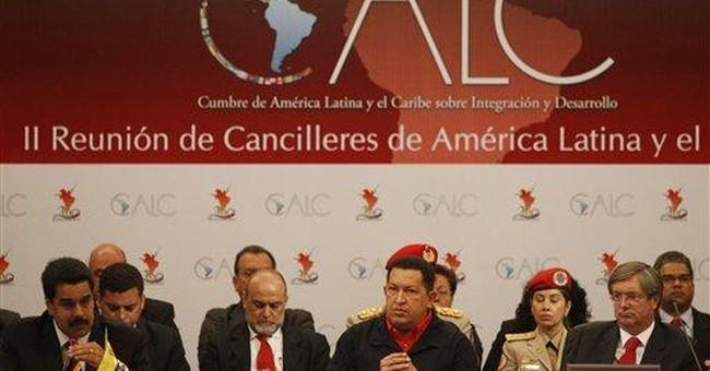 Venezuela's Chavez promotes new regional group