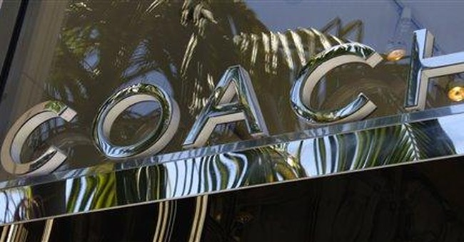 Coach 3Q boosted by China, N. American demand