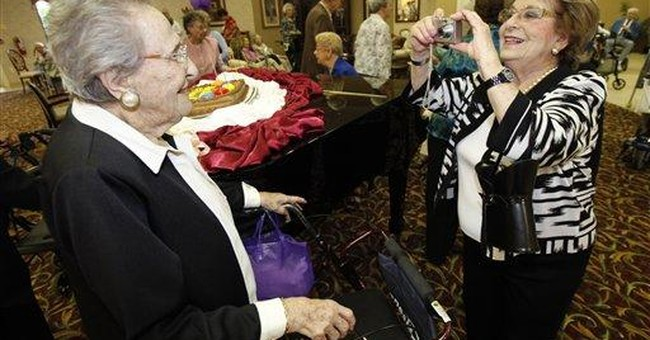 Number of 100-year-olds is booming in US