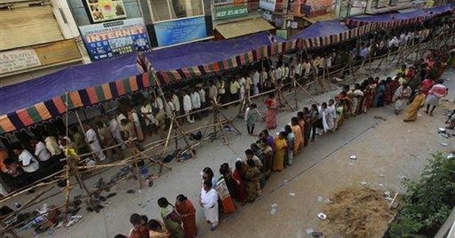Indian politicians pay last respects to Hindu guru
