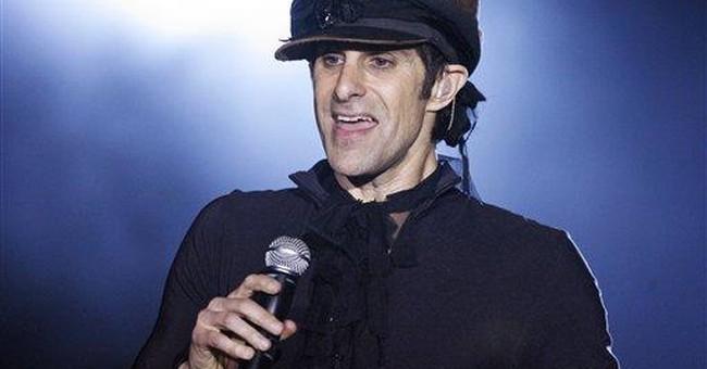 Farrell celebrates Lollapalooza's 20th anniversary