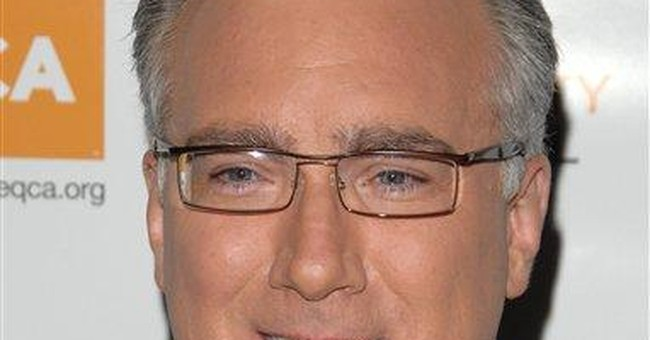 Keith Olbermann arriving at Current TV on June 20