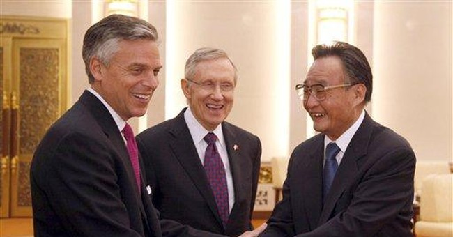 Reid: US must compete with China to lead on energy
