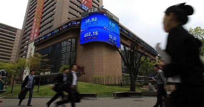SKorea's economy grows 1.4 percent in 1st quarter