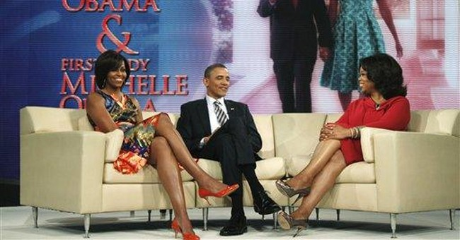 Obama goes to NYC for money, Chicago for Oprah
