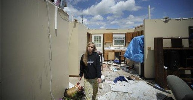 Vignettes from the devastation across the South