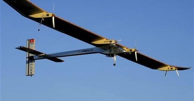 Solar plane prepped for first international flight