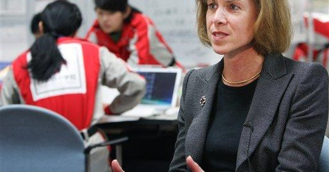 US Red Cross chief struck by tsunami's destruction