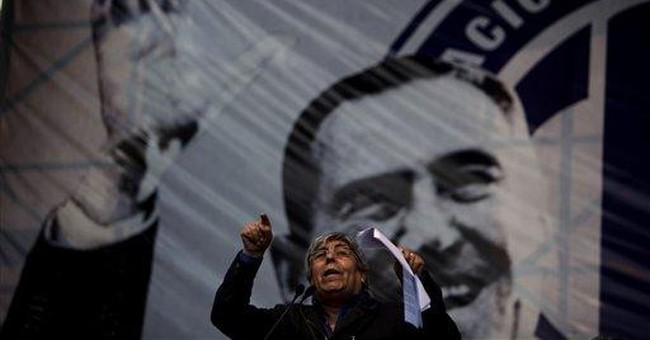 Argentine union boss plans big show of strength