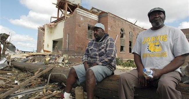 Tuscaloosa neighborhood reels after killer twister