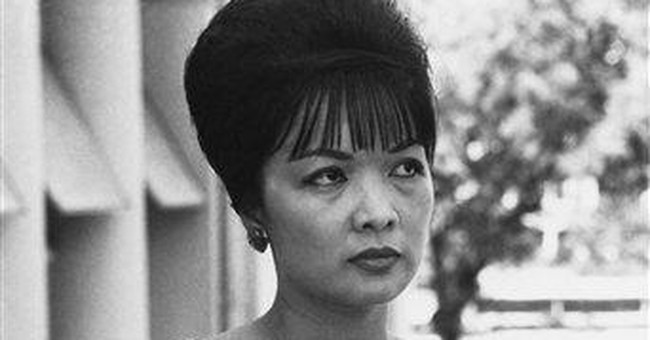 Former First Lady of South Vietnam dies in Rome