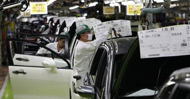 Japan factory output, consumer spending plummet