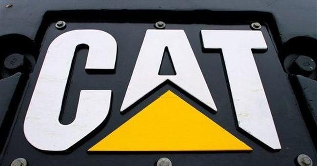 Caterpillar's 1Q profit soars, boosts forecast