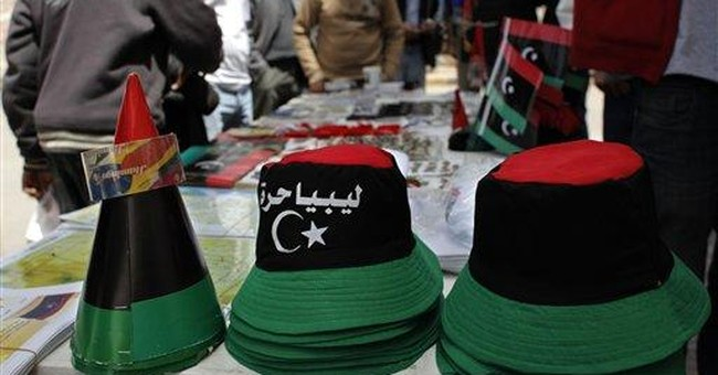 Libyan revolution awash with colorful souvenirs