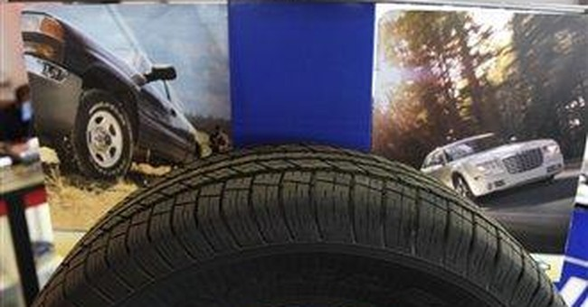 Goodyear posts sales record, 1Q earnings of $103M